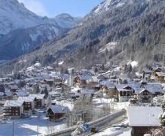 Champery ski area