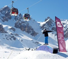 Courchevel ski area France - Photo: David André - Courchevel Tourisme