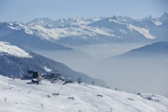 Laax ski area, Switzerland