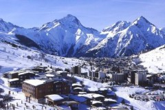 Les 2 Alpes ski area - Photo: Office de Tourisme des 2 Alpes / Roberto Palomba