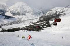 Livigno ski area Italy