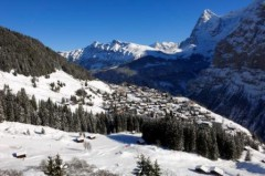 Mürren ski area, Jungfrau Region, Switzerland - Photo: Jungfrau Region/Jost von Allmen