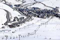 Pas de la Casa ski area Andorra
