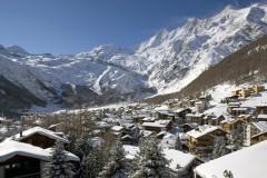 Saas-Fee ski area