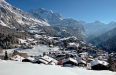 Wengen Jungfrau Region ski area - Photo: Jungfrau Region