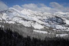 Brighton ski area, Utah, USA