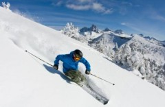 Grand Targhee ski area, Wyoming, USA - Photo courtesy Grand Targhee Resort