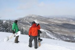 Killington ski area, Vermont, USA