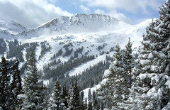 Loveland ski resort, Colorado, USA