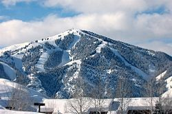 Sun Valley ski area, Idaho, USA