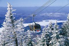 Mont Tremblant ski area, Québec, Canada