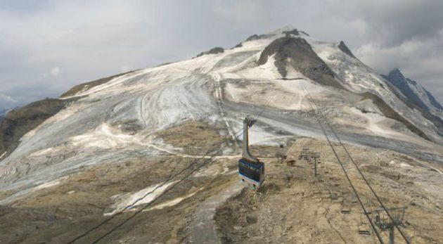 Grande Motte glacier, Tignes - 4th August 2015