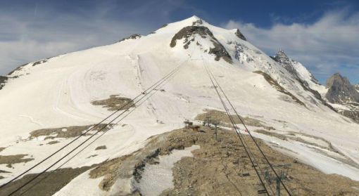 Grande Motte glacier, Tignes - 29th June 2015