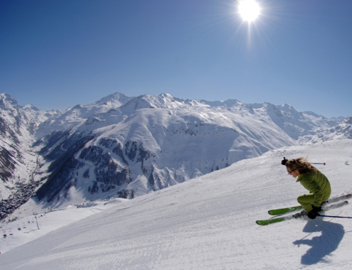 Val d'Isère ski area, France - Weather to ski - Top 10 early season ski resorts, Europe