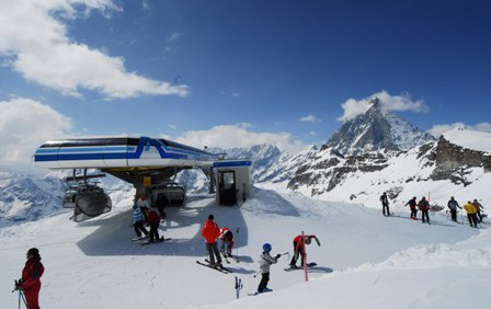 Cervinia ski area, Italy - Top 10 early season ski resorts, Europe