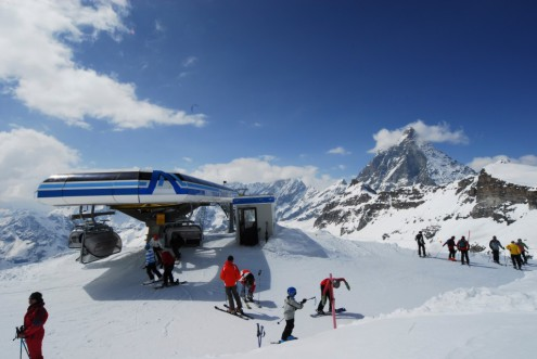 Cervinia ski area, Italy - Weather to ski - Top 10 early season ski resorts, Europe