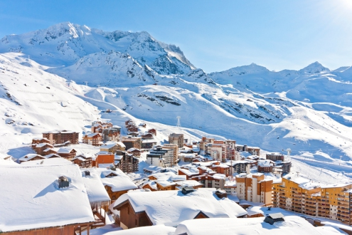 Val Thorens ski area, France - Weather to ski - Top 10 early ski season resorts, Europe