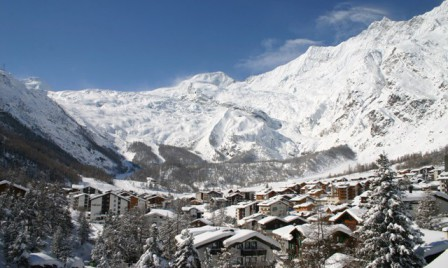 Saas-Fee, Switzerland - Weather to ski - Top 10 late season ski resorts, Europe
