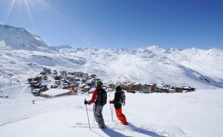 Val Thorens, France - Weather to ski - Top 10 late season ski resorts, Europe