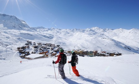 Val Thorens ski area, France - Top 10 snow-sure ski resorts, Europe