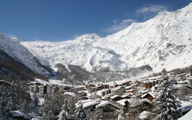 Saas-Fee ski area, Switzerland - Top 10 snow-sure ski resorts, Europe