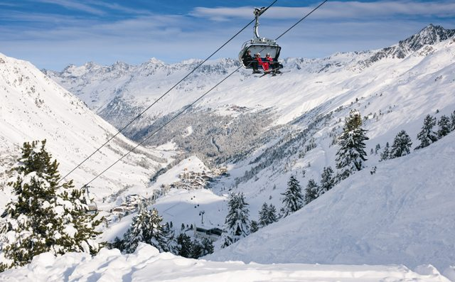 Obergurgl ski area, Austria - Top 10 snow-sure ski resorts, Europe