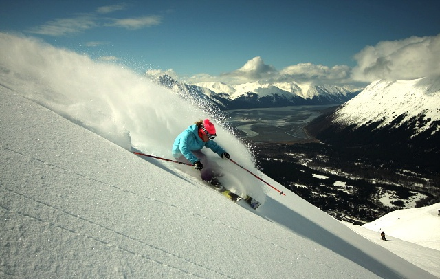 Alyeska Resort ski area, Alaska, USA - Top 10 snowiest ski resorts, North America