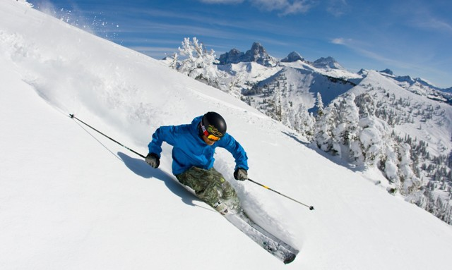 Grand Targhee ski area, Wyoming, USA - Top 10 snowiest ski resorts, North America