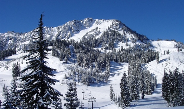 Stevens Pass ski area, Washington, USA - Top 10 snowiest ski resorts, North America