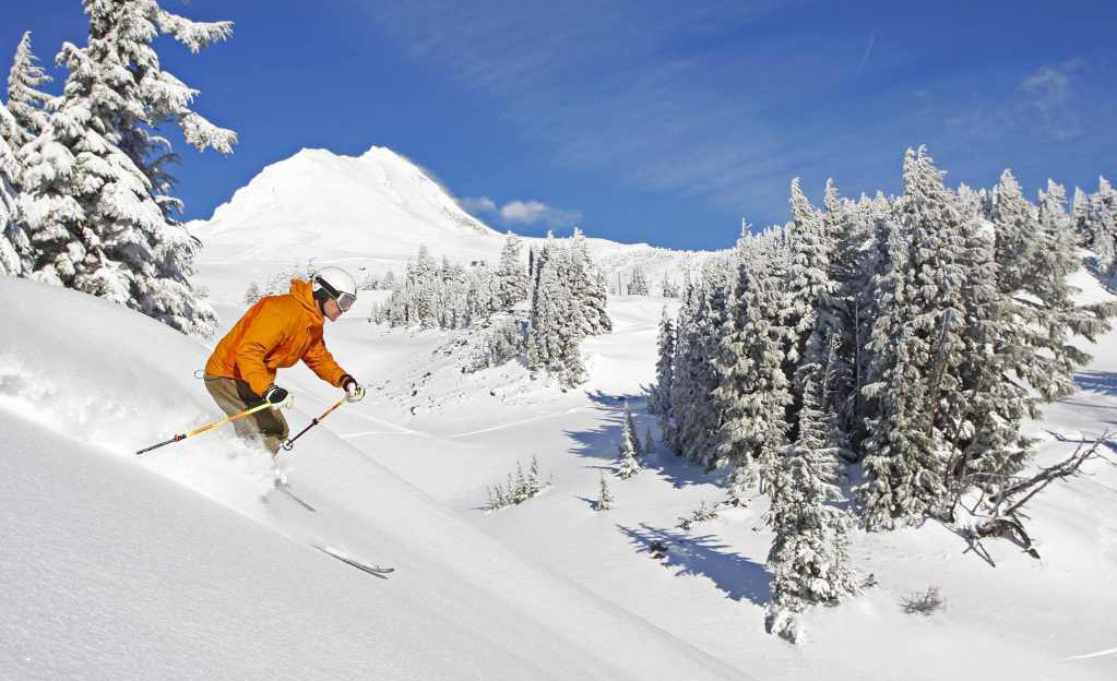 Mount Hood Meadows ski area, Oregon, USA - Top 10 snowiest ski resorts, North America