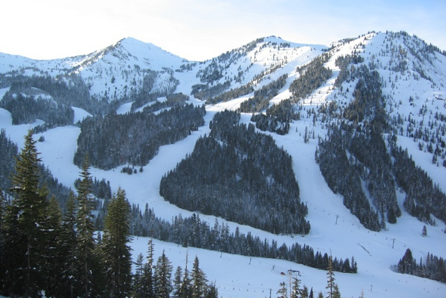 Crystal Mountain ski area, Washington, USA - Top 10 powder destinations, North America