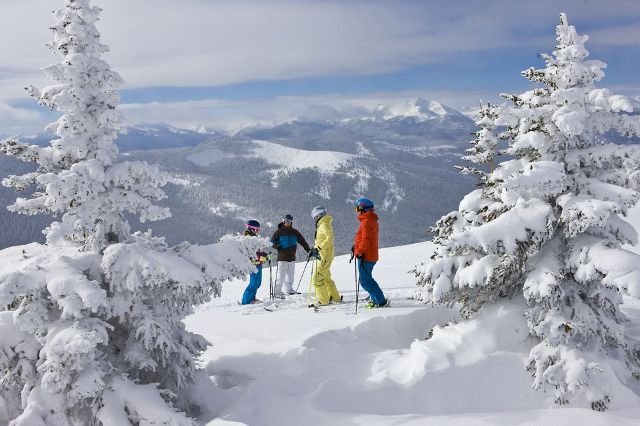 Vail ski area, Colorado, USA - Photo: Top 10 powder destinations, North America