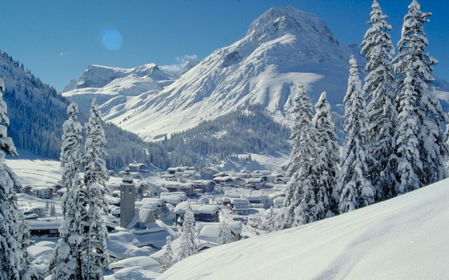 Lech-Zürs ski area, Austria - Top 10 snowiest ski resorts, Europe