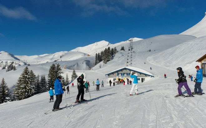 Damüls ski area, Austria - Top 10 snowiest ski resorts, Europe