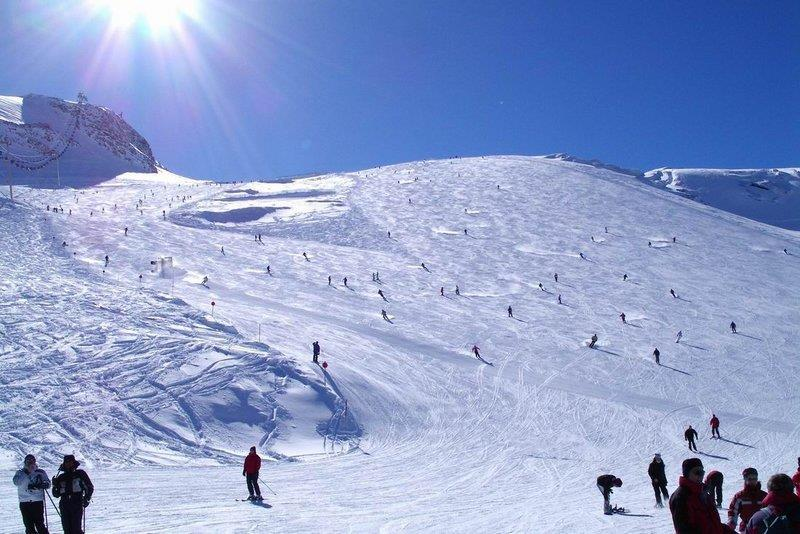 Hintertux, Austria - Top 5 places to ski in the Alps in August