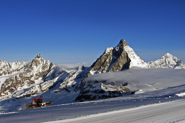 Cervinia, Italy - Top 5 places to ski in the Alps in August