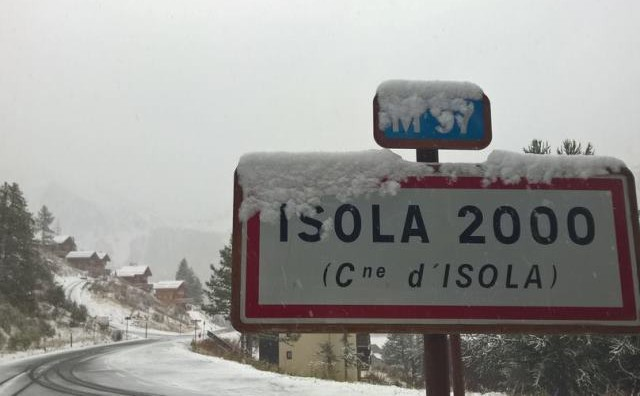 Isola 2000, France - 2 October 2015