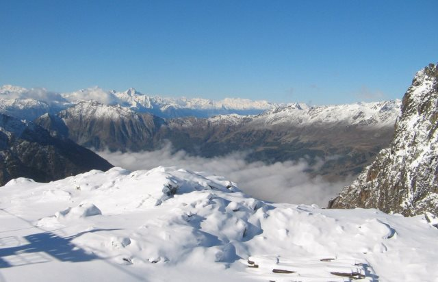 Monterosa Ski, Italy - 4 October 2015