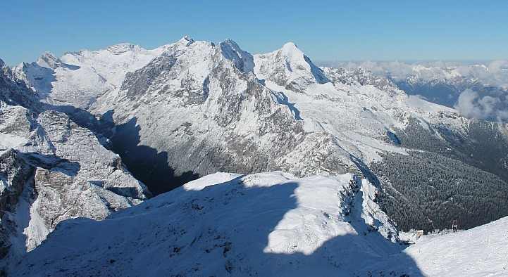Zugspitze, Germany - 20 October 2015