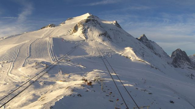 Tignes, France - 24 October 2015