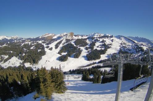 La Clusaz, France – Weather to ski – Snow report, 28 December 2017