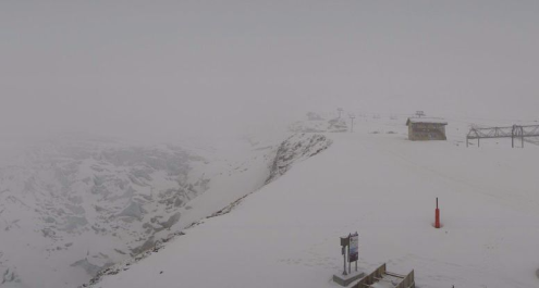 Saas-Fee, Switzerland – Weather to ski – Today in the Alps, 20 November 2015