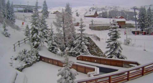 Méribel, France - Weather to ski - Today in the Alps, 21 November 2015