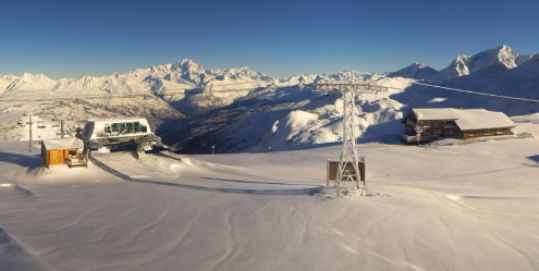 La Plagne, France – Weather to ski – Today in the Alps, 23 November 2015