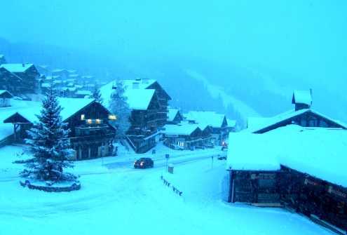 Les Saisies, France - Weather to ski - Today in the Alps, 25 November 2015