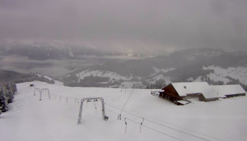 Villars, Switzerland - Weather to ski - Today in the Alps, 25 November 2015