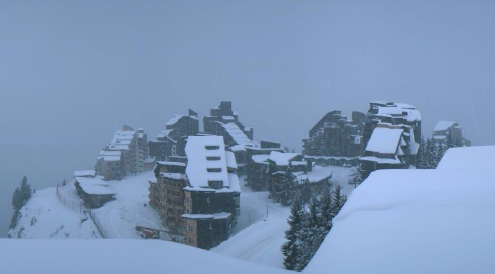 Avoriaz, France - Weather to ski - Today in the Alps, 29 November 2015