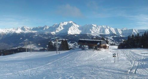 Megève, France - Weather to ski - Season progress report, 30 November 2015