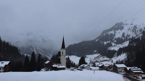 Schröcken, Austria - Weather to ski - Today in the Alps, 1 December 2015