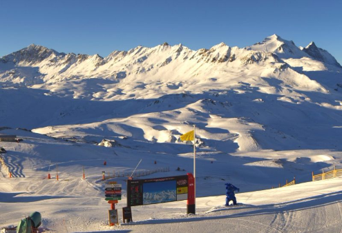 Val d'Isère, France - Weather to ski - Today in the Alps, 2 December 2015